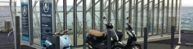 Birkenhead Wharf Bike Cage