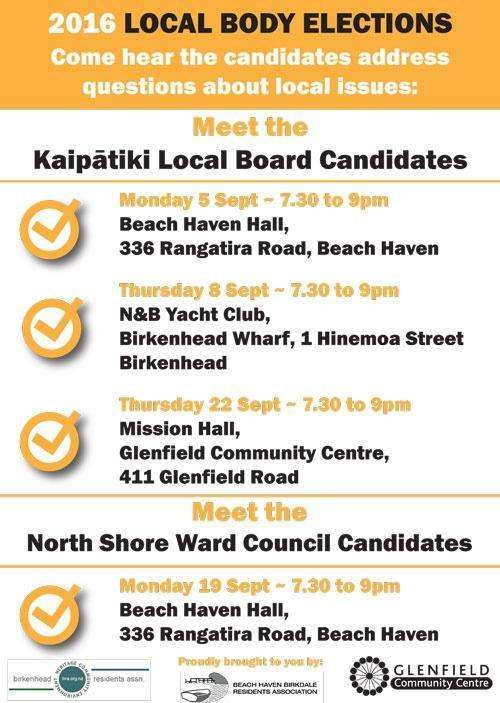 2016 Kaipatiki Local Board Elections
